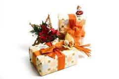 prezenty świąteczne Obraz Royalty Free