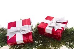 prezenty świąteczne Obraz Stock