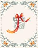 prezenty świąteczne wita wesołych Świąt royalty ilustracja
