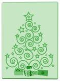 prezenty drzewni Zdjęcia Royalty Free
