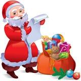 prezenty Santa Zdjęcie Stock