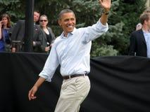 Prezydencka fala Zdjęcia Royalty Free