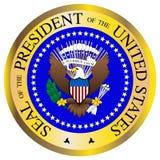Prezydencka foka royalty ilustracja