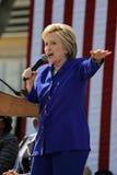 Prezydencka Hillary Clinton Uczęszcza 'Wydostawał się głosowanie' wiec, L zdjęcie royalty free