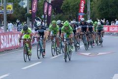 Prezydencka kolarstwo wycieczka turysyczna Turcja 2014 Zdjęcia Stock
