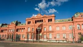 prezydencki Argentina pałac Zdjęcia Royalty Free