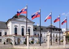 Prezydencki Grassalkovich Pałac. Bratislava obraz royalty free