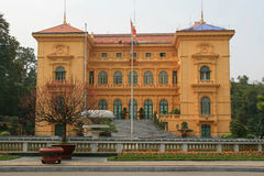 Prezydencki pałac Hanoi, Wietnam - Obrazy Royalty Free