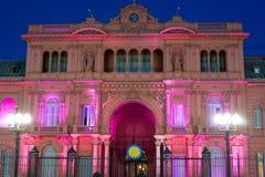 Prezydencki pałac Argentyna Zdjęcia Royalty Free