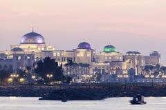 Prezydencki pałac w Abu Dhabi Zdjęcia Stock