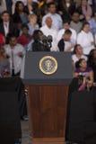 Prezydenckiej kampanii wiec, Zdjęcie Stock