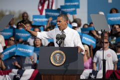 Prezydent Barack Obama Obrazy Royalty Free