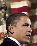 Prezydent Barack Obama Obraz Stock