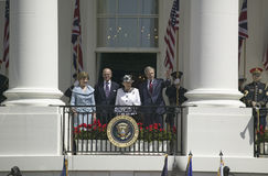 Prezydent George W. Bush Zdjęcie Royalty Free
