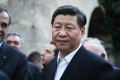 Prezydent ludzie republiki Chiny XI. Jinping obrazy stock