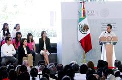 Prezydent Meksyk, Enrique Peña Nieto Zdjęcie Royalty Free