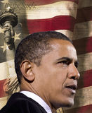 Prezydent Obama Obrazy Royalty Free
