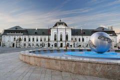 Prezydent pałac, Bratislava II Obraz Stock