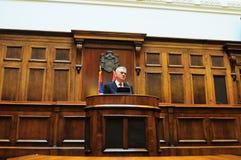 Prezydent Serbia Tomislav Nikolich Obrazy Royalty Free
