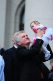 Prezydent Serbia Tomislav Nikolich Obraz Royalty Free