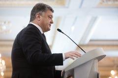 Prezydent Ukraina Petro Poroshenko Obraz Royalty Free