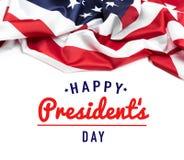 Prezydenta dnia usa - wizerunek zdjęcia royalty free