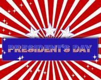 Prezydenta dzień. royalty ilustracja