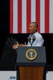 Prezydenta Obama Tahoe 20th Roczny Jeziorny szczyt 12 Obraz Stock