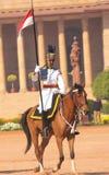 Prezydenta Ochroniarz, India - zdjęcia stock