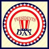 Prezydenta ` s dnia wakacje Zdjęcie Stock
