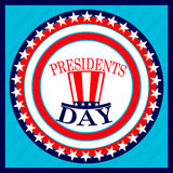 Prezydenta ` s dnia wakacje Obraz Stock
