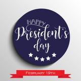 Prezydenta ` s dzień w usa tle graficzny projekt dla dekoracja plakatów, karty, prezent karty Fotografia Royalty Free