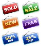 Prezzi da pagare Fotografie Stock