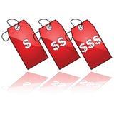 Prezzi da pagare Fotografia Stock