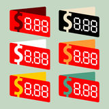 Prezzi da pagare Fotografia Stock Libera da Diritti
