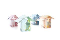 Prezzi del bene immobile Fotografia Stock