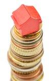 Prezzi del bene immobile che vanno in su Fotografia Stock Libera da Diritti