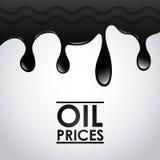 Prezzi del petrolio royalty illustrazione gratis