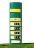Prezzi della benzina Immagini Stock