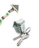 Prezzi di alloggio in aumento Fotografia Stock Libera da Diritti