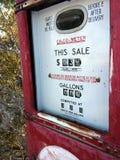 Prezzi di combustibile Immagine Stock Libera da Diritti