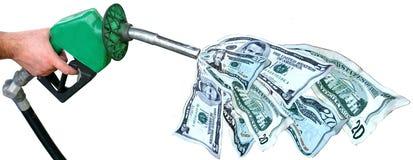 Prezzi di gas Immagini Stock