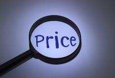 prezzo Fotografia Stock Libera da Diritti