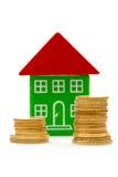 Prezzo di aumentare delle case Immagine Stock
