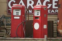 Prezzo di gas Fotografia Stock