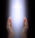 Prière à l'esprit divin Image stock