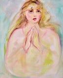 Prière illustration libre de droits