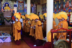 Prière bouddhiste photo stock