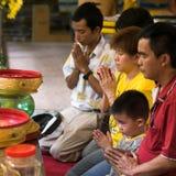 Prière d'enfant Photo libre de droits