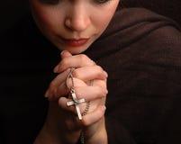 Prière de femme photos libres de droits